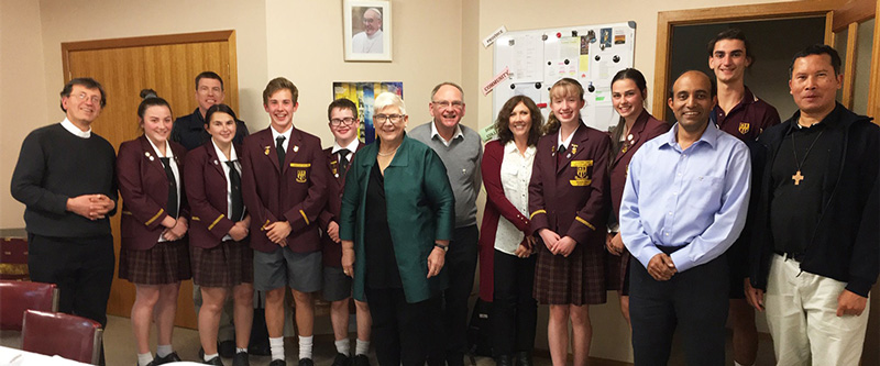 Dominic College Meets with Salesians