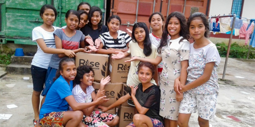 Salesian Missions Rise Up to feed the young of Timor-Leste